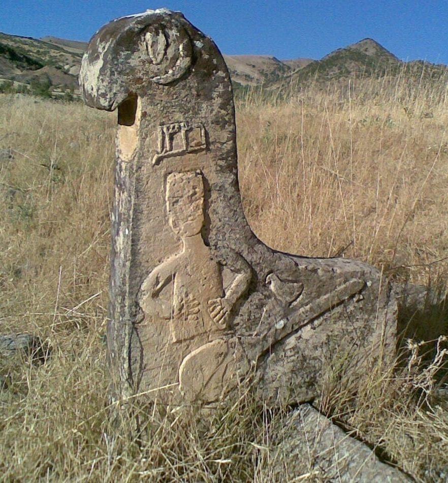 Dersim'in tarihi mezar taşları 1