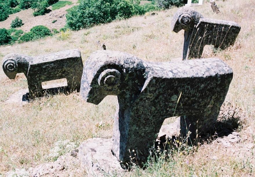 Dersim'in tarihi mezar taşları 7