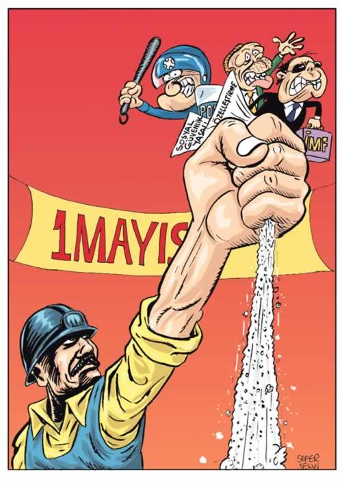 Yazarlar 1 Mayıs 2009'da Taksim'de olacaklar