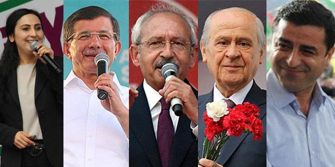 Partilerin seçim takvimleri netleşti