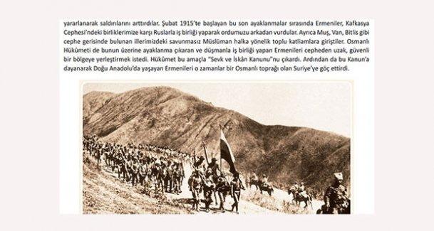 Ders kitaplarında Ermeniler yine hedef; Kürt Teali Cemiyeti'ni Türkler kurmuş!