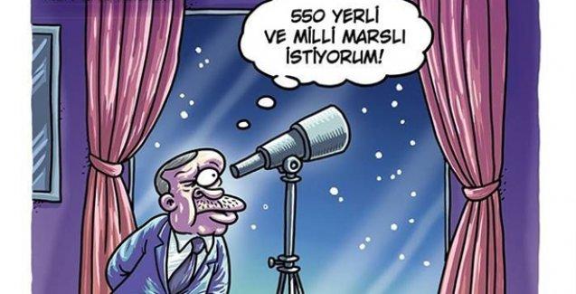 Erdoğan: 550 yerli ve milli Marslı istiyorum