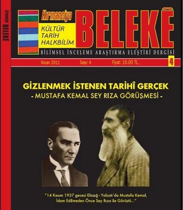 Saklanılan SIR: Seyit Rıza ile Atatütürk Görüşmesi