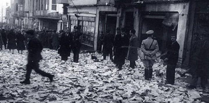 CHP'nin kışkırtmasıyla Tan Matbaasının yakılıp yıkılması Olayı