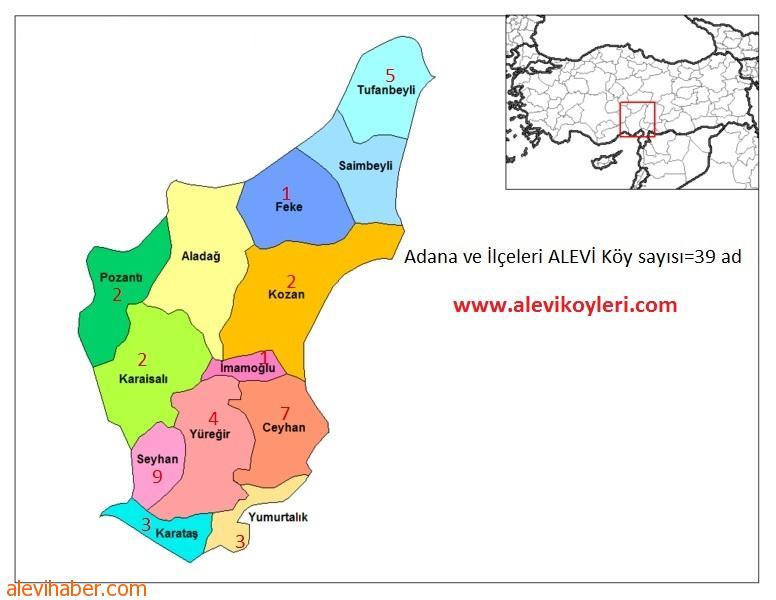 Adana Ceyhan Alevi Köyleri