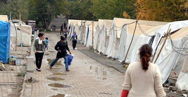 ''Ezidi sığınmacılara ayrımcılık''