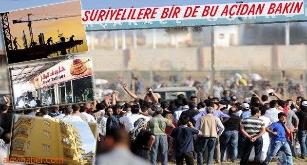 Suriyeliler gelmeden önce biz!