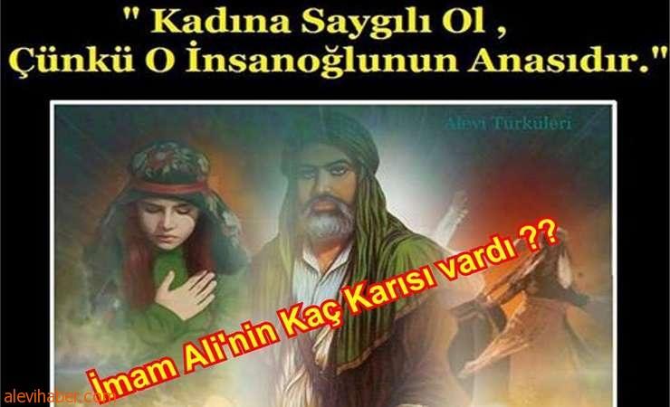 4. Halife Ali'nin kaç tane karısı ve Çocuğu vardı?