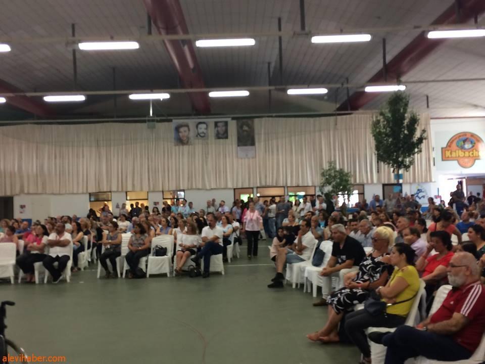 1. Alevi Festivali başarıyla gerçekleştirildi