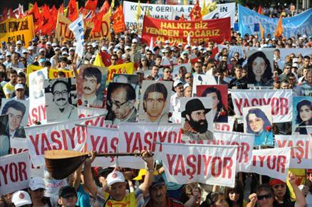 Ankara'da 2 Temmuz Mitingi