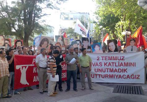 Sivas Şehitleri Antalya'da Anılacak