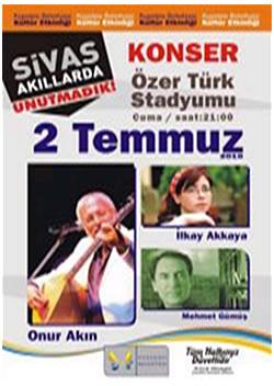 """Kuşadası Belediyesi'nden """"Sivas Akıllarda, Unutmadık"""" Etkinliği"""