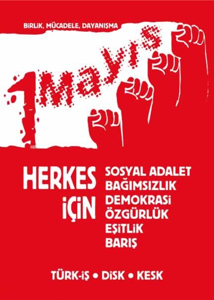 1 Mayıs'ta Taksim Meydanı'nı Çiçek Bahçesine Çevireceğiz!