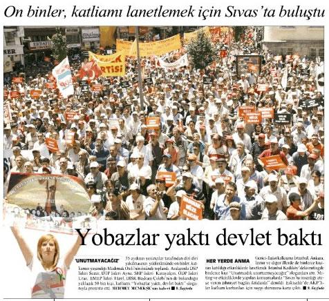 Vali Kolat : Madımak Önünde Anma Töreni Olmayacak !!!