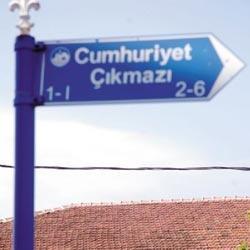 Cumhuriyet Çıkmazı... Tayyip Sokak... Oruç Market!