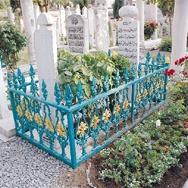 Tarikat mezarına Danıştay'da dava
