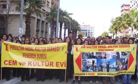 PSAKD İzmir Şubeleri 8 Mart Etkinlikleri