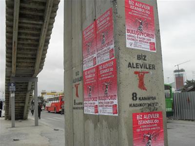 Eşit yurttaşlık isteyen Alevilere gözaltı