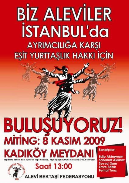 8 Kasım Büyük Alevi Mitingi İçin Ankara'dan araçlar kaldırılacak