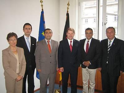 AABF'den Almanya Çalışma Bakanı'na ziyaret