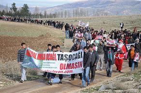 Antalya'da taş ocağı eylemine soruşturma