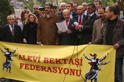 Başbakanlık önünde 'Alevi' eylemi