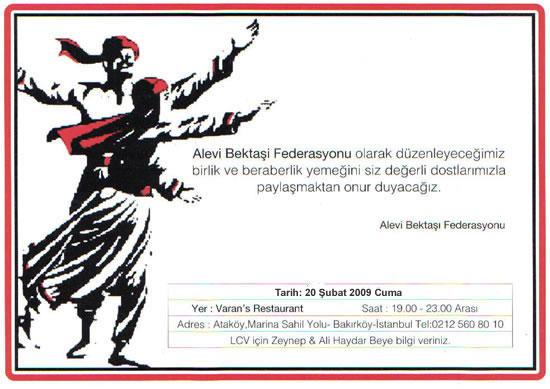 ABF İstanbul'da Dayanışma Yemeği Düzenliyor