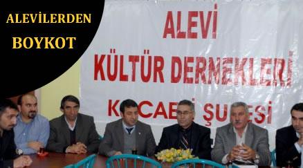 Alevilerden belediyeye boykot