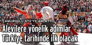 Çamuroğlu, AK Partinin Alevi açılımını anlattı