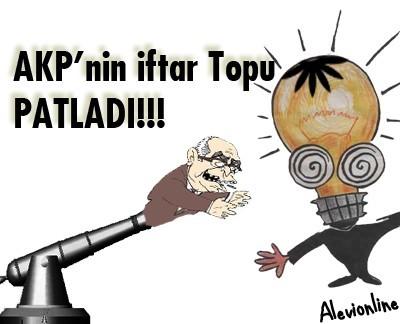 AKP nin İftar Topu Patladı