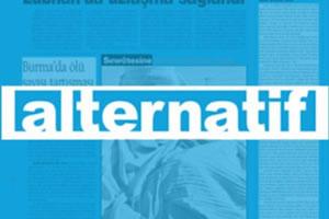 Alternatif gazetesine destek ziyareti