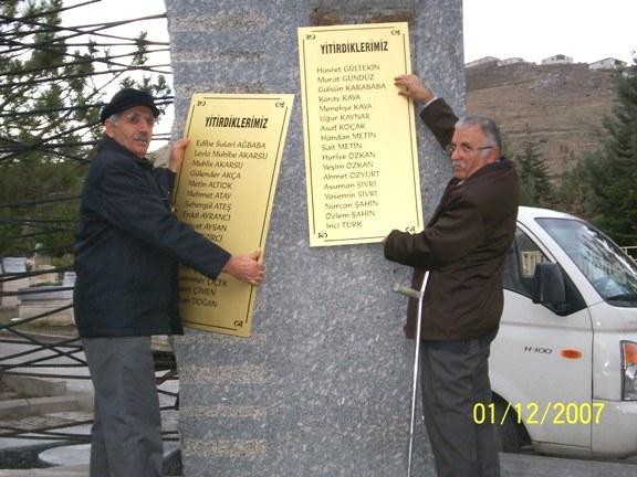 Sivas Şehitleri Anıt Mezarı Onarıldı