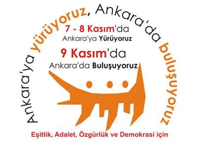 ABF, 7 Kasım yürüyüşüne çağırdı