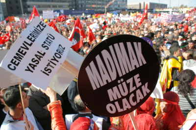 Ankara'da yüzbin Alevi, yüzbin eşitlik talebi