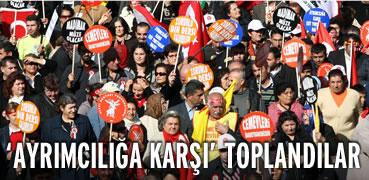 Aleviler 'ayrımcılığa karşı' toplandı