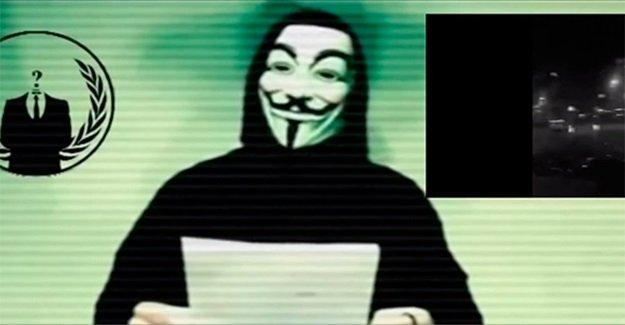 Anonymous Islam Devleti Soysuzlarına Savaş ilan etti