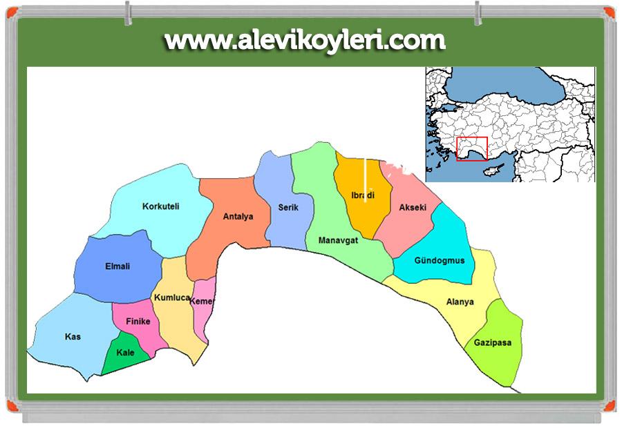 Antalya Manavgat Alevi Köyleri