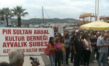 Zorunlu Din Dersleri ve 12 Eylül Ayvalık'ta Protesto Edildi