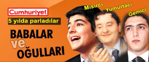 AKP'lilerin patron çocukları