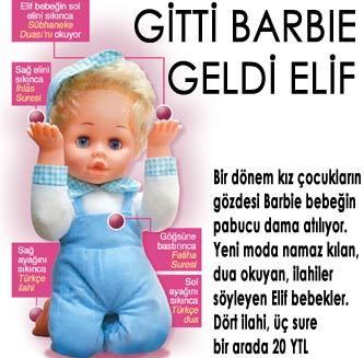 Gitti Barbie geldi Elif