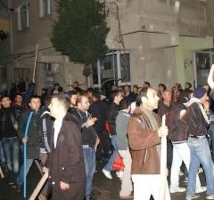 Başakşehir Şahintepe'de tehlikeli provokasyon