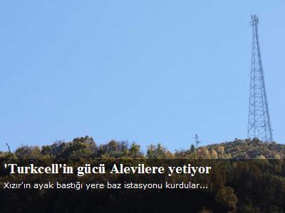 Turkcell önünde baz protestosu