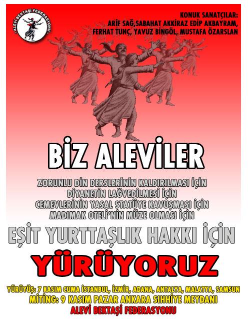 Aleviler 'Eşit yurttaşlık' için Ankara'da buluşuyor