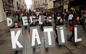 Beyoğlu'nda 'Dersim' protestosu