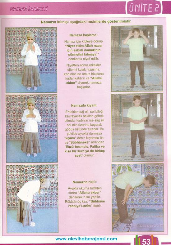 6. Sınıf Din Dersi Kitabından Kareler