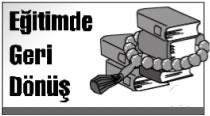 Eğitimde Geri Dönüş 1 : AKP'nin hedefi laiklik