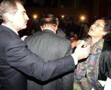 Sivas şehitlerinin ailelerinden Günay'a tepki