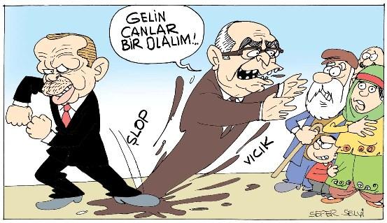 Alevileri AKP lileştirme atağı başlattı.