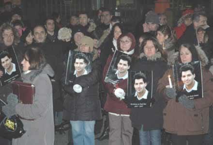 Fuat Deniz'in Katledilmesi Protesto Edildi
