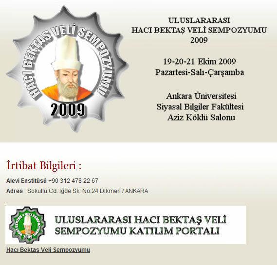 Uluslararası Hacı Bektaş Veli Sempozyumu 2009